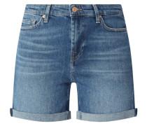 Jeansshorts mit Stretch-Anteil Modell 'Pier'