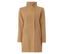 Mantel mit Stehkragen