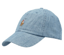 Basecap aus Light Denim