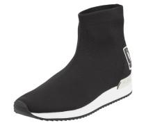 Sock Boots in Strick-Optik