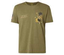 Slim Fit T-Shirt mit Prints