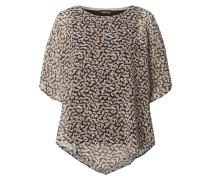 Blusenshirt aus Chiffon mit Kimonoärmeln
