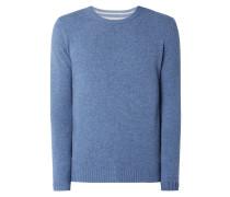 Pullover aus Lammwolle