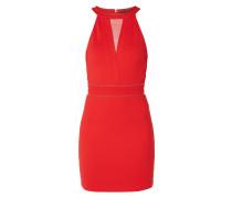 Kleid mit Ziersteinbesatz