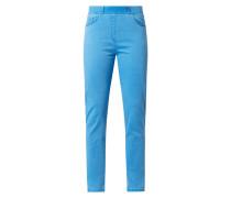 Super Slim Fit Stretchhose mit elastischem Bund Modell 'Lavina'