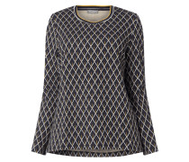 PLUS SIZE Pullover mit Webmuster