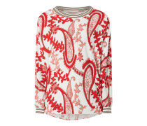 Blusenshirt aus Viskose Modell 'Oana'