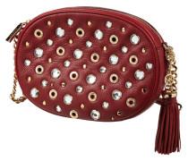Crossbody Bag mit Ziersteinbesatz