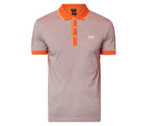 Regular Fit Poloshirt mit Kontrastabschlüssen