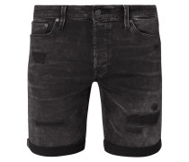 Regular Fit Jeansshorts mit Stretch-Anteil Modell 'Rick'