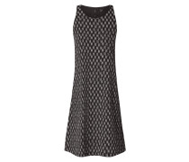 Kleid mit abstraktem Punktemuster