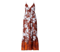 Kleid mit floralem Muster Modell 'Wild Tropics'