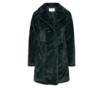 Mantel aus Webpelz