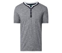 Serafino-Shirt aus Organic Cotton