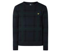 Pullover mit Kontrastrückseite