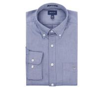 Modern Fit Freizeithemd aus Oxford mit Brusttasche