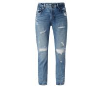 Mom Fit Jeans aus Baumwolle Modell 'Violet'