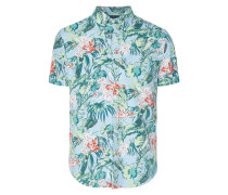 Hawaiihemd mit Brusttasche