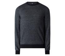 Pullover mit Leinen-Anteil Modell 'Otimo'