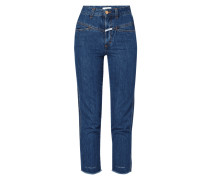 Light Stone Washed Classic Fit Jeans