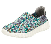 Slip-On Sneaker 'Zip Fly' mit Profilsohle