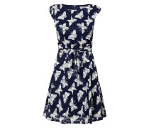 Kleid aus Spitze mit Allover-Muster