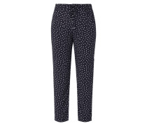 Easy Pants mit Allover-Muster