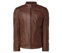 Lederjacke aus Lammnappa Modell 'Jersey'