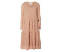 Kleid mit Allover-Muster Modell 'Dea'