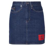 5-Pocket-Jeansrock mit Label-Aufnäher