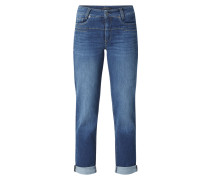 Slim Fit Jeans mit Stretch-Anteil 'Modell Pearlie'