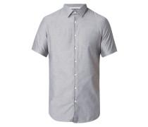 Slim Fit Business-Hemd mit kurzem Arm