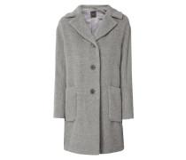 Mantel aus Alpaka-Schurwolle-Mix