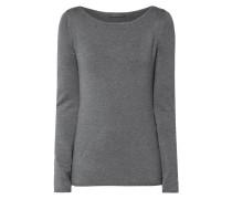 Pullover mit Zierknopfleiste