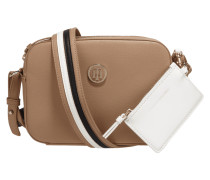 Crossbody Bag mit Kontraststreifen