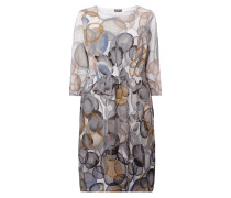 PLUS SIZE - Kleid mit abstraktem Muster