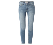 Stone Washed Extra Skinny Fit Jeans