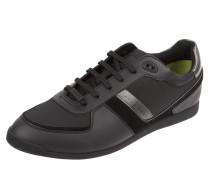 Sneaker 'Maze_Lowp' aus Textil und Veloursleder
