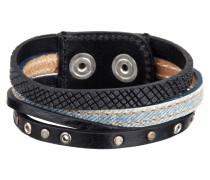 Armband mit Druckknopfverschluss
