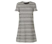 Kleid mit eingewebtem Ikatmuster