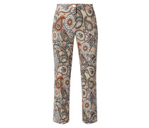 Relaxed Fit Stoffhose aus Viskose Modell 'May'