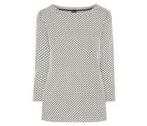 Shirt mit eingewebtem Punktemuster