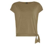 Shirt mit seitlicher Schnürung am Bund
