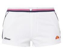 Shorts mit Logo-Aufnähern