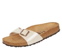 Sandalen in schimmernder Optik