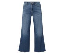Flared Jeans aus Baumwoll-Elasthan-Mix