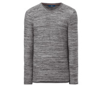 Fitted Longsleeve im Double-Layer-Look