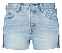501® SHORTS ALTERED ZIP Misted Indigo