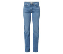 Shaping Straight Fit Jeans mit Stretch-Anteil Modell '314'