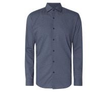 Modern Fit Business-Hemd mit feinem Muster